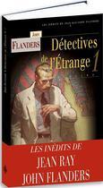 Couverture du livre « Détectives de l'étrange » de Jean Ray aux éditions Terre De Brume