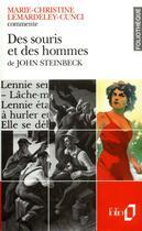 Couverture du livre « Des souris et des hommes de john steinbeck (essai et dossier) » de Lemardeley-Cunci M-C aux éditions Gallimard