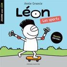 Couverture du livre « Jouons avec Léon ; les sports » de Annie Groovie aux éditions Presses Aventure