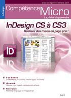 Couverture du livre « InDesign CS à CS3 ; réalisez des mises en page pro ! » de Sophie Jouxtel aux éditions Knowware