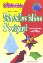 Couverture du livre « 3d nouvelles idees d'origami » de Macchi aux éditions De Vecchi