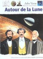 Couverture du livre « Autour de la lune » de Jules Verne aux éditions Gallimard-jeunesse
