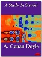 Couverture du livre « A study in scarlet » de Arthur Conan Doyle aux éditions Ebookslib