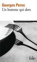 Couverture du livre « Un homme qui dort » de Georges Perec aux éditions Gallimard