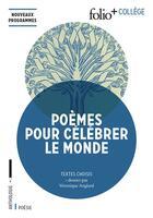 Couverture du livre « Poèmes pour célébrer le monde » de Collectif aux éditions Gallimard
