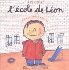 Couverture du livre « L'école de Léon » de Serge Bloch aux éditions Albin Michel Jeunesse