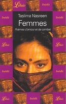 Couverture du livre « Femmes - poemes d'amour et de combat » de Taslima Nasreen aux éditions J'ai Lu