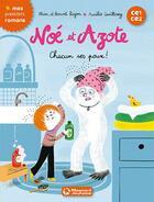 Couverture du livre « Noé et Azote T.12 ; chacun ses poux ! » de Aurelie Guillerey et Mim et Benoit Bajon aux éditions Magnard