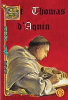 Couverture du livre « Saint Thomas d'Aquin » de Louis Millet aux éditions Clovis