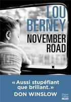 Couverture du livre « November road » de Lou Berney aux éditions Harpercollins