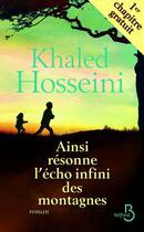 Couverture du livre « Ainsi résonne l'écho infini des montagnes 1er chapitre » de Khaled Hosseini aux éditions Belfond