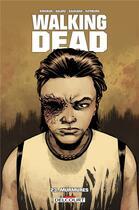Couverture du livre « Walking dead T.23 ; murmures » de Charlie Adlard et Robert Kirkman et Stefano Gaudiano aux éditions Delcourt