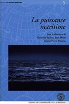Couverture du livre « La puissance maritime » de Poussou et Buchet et Meyer aux éditions Pu De Paris-sorbonne