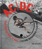 Couverture du livre « AC/DC ; high-voltage rock n'roll » de Phil Sutcliff aux éditions Epa