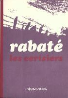 Couverture du livre « Les cerisiers » de Jean-Claude Rabate aux éditions L'association