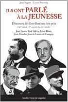 Couverture du livre « Ils ont parlé à la jeunesse » de Louis Secondy et Jean Sagnes aux éditions Nouvelles Presses Du Languedoc