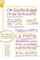 Couverture du livre « Nouvelles d'ados » de Collectif aux éditions Heloise D'ormesson