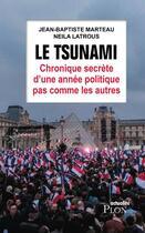Couverture du livre « Le tsunami ; chronique secrète d'une année politique pas comme les autres » de Neila Latrous et Jean-Baptiste Marteau aux éditions Plon