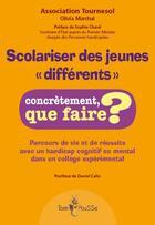 Couverture du livre « Scolariser des jeunes