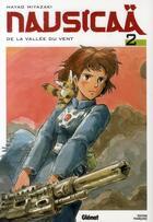 Couverture du livre « Nausicaä de la vallée du vent t.2 » de Hayao Miyazaki aux éditions Glenat