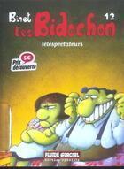 Couverture du livre « Les Bidochon T.12 ; téléspectateurs » de Christian Binet aux éditions Fluide Glacial