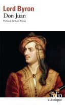 Couverture du livre « Don Juan » de George Gordon Byron Byron aux éditions Gallimard