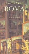 Couverture du livre « Roma » de Claudia Moatti aux éditions Actes Sud