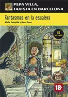 Couverture du livre « Fantasmas en la escalera » de Neus Sans aux éditions La Maison Des Langues
