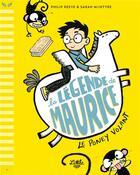 Couverture du livre « La légende de Maurice T.1 ; le poney volant » de Philip Reeve et Sarah Mcintyre aux éditions Little Urban