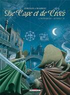 Couverture du livre « De cape et de crocs ; INTEGRALE VOL.1 ; T.1 ET T.2 » de Alain Ayroles et Jean-Luc Masbou aux éditions Delcourt