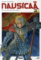 Couverture du livre « Nausicaä de la vallée du vent t.3 » de Hayao Miyazaki aux éditions Glenat