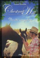 Couverture du livre « Chestnut Hill t.15 ; un été au galop » de Lauren Brooke aux éditions Pocket Jeunesse