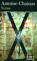 Couverture du livre « Versus » de Antoine Chainas aux éditions Gallimard