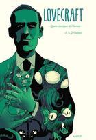Couverture du livre « Lovecraft ; quatre classiques de l'horreur » de Ian Culbard aux éditions Akileos