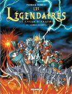 Couverture du livre « Les Légendaires T.11 ; le cycle d'Anathos ; versus Inferno » de Patrick Sobral aux éditions Delcourt
