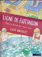 Couverture du livre « Ligne de flottaison ; carnet de bord de ma croisière sénior » de Lucy Knisley aux éditions Steinkis