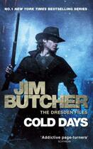 Couverture du livre « Cold days - the dresden files: book 14 » de Jim Butcher aux éditions Orbit