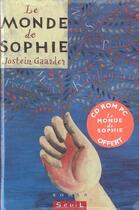 Couverture du livre « Le monde de Sophie » de Jostein Gaarder aux éditions Seuil