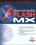 Couverture du livre « Studio Graphique Flash Mx » de Eric Charton aux éditions Campuspress