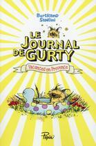 Couverture du livre « Le journal de Gurty » de Bertrand Santini aux éditions Sarbacane