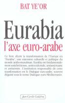 Couverture du livre « Eurabia, l'axe euro-arabe » de Bat Ye'Or aux éditions Jean-cyrille Godefroy