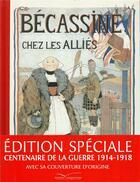 Couverture du livre « Bécassine chez les alliés » de Caumery et Joseph-Porphyre Pinchon aux éditions Gautier Languereau
