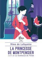 Couverture du livre « La Princesse de Montpensier ; la Contesse de Tende » de Madame De La Fayette aux éditions J'ai Lu