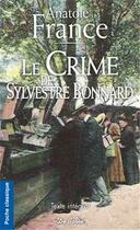 Couverture du livre « Le crime de Sylvestre Bonnard » de Anatole France aux éditions De Boree