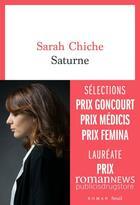 Couverture du livre « Saturne » de Sarah Chiche aux éditions Seuil
