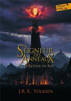 Couverture du livre « Le seigneur des anneaux t.3 ; le retour du roi » de J.R.R. Tolkien aux éditions Gallimard-jeunesse