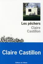 Couverture du livre « Les pêchers » de Claire Castillon aux éditions Editions De L'olivier