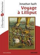 Couverture du livre « Voyage à Lilliput » de Jonathan Swift aux éditions Magnard