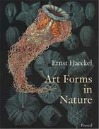 Couverture du livre « Ernst haeckel art forms in nature » de Haeckel Ersnt aux éditions Prestel