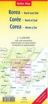 Couverture du livre « Coree / korea north and south » de Collectif aux éditions Nelles